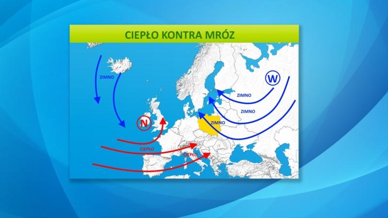 Mróz jeszcze utrzyma się nad Polską, ale już niedługo