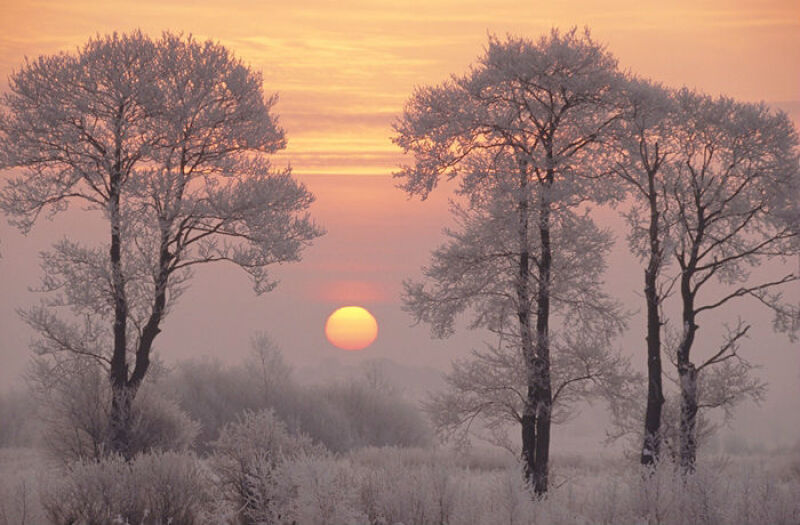 Zimowe poranki często są magiczne (fotokrajobrazy.pl)
