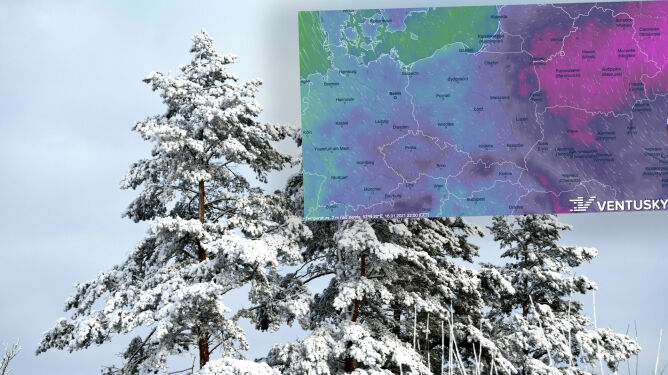 Pogoda na 5 dni: zima się rozgości. Miejscami 12 stopni mrozu