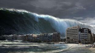 Za 200 lat, a może i mniej potężne tsunami zaleje część USA i Kanady