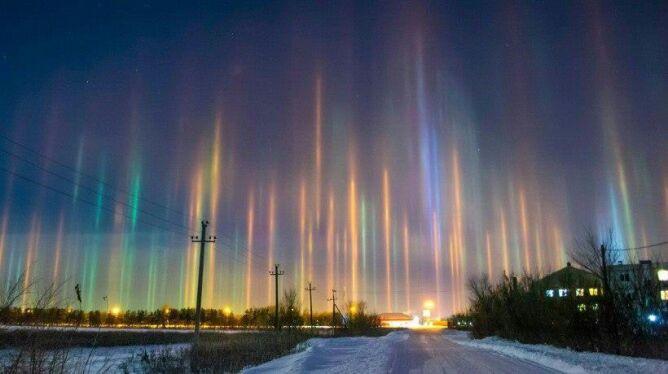 Niezwykłe zjawisko w południowej Rosji