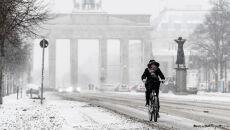 Zima w Niemczech (PAP/EPA/FILIP SINGER)